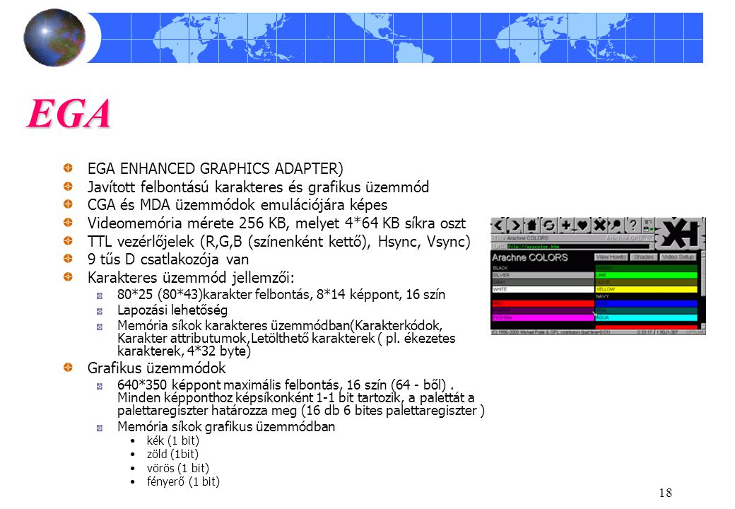 EGA EGA ENHANCED GRAPHICS ADAPTER)