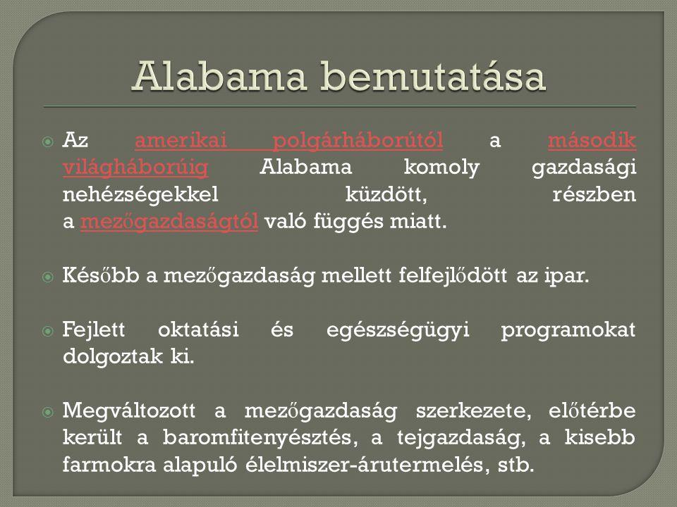 Alabama bemutatása