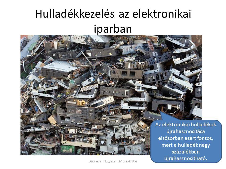 Hulladékkezelés az elektronikai iparban