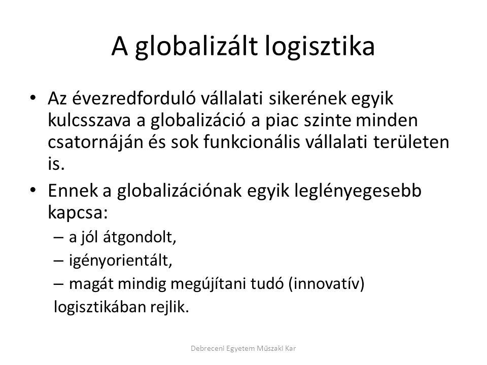 A globalizált logisztika