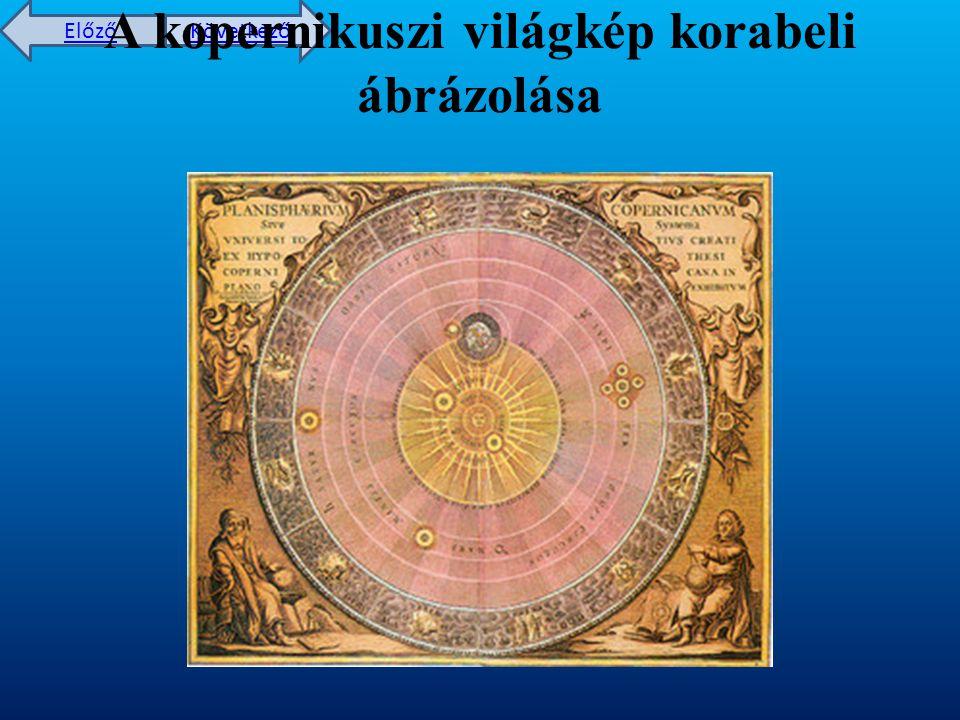 A kopernikuszi világkép korabeli ábrázolása