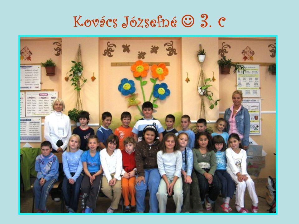 Kovács Józsefné  3. c