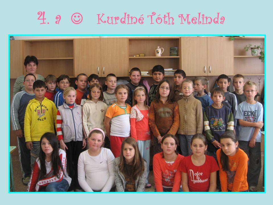 4. a  Kurdiné Tóth Melinda