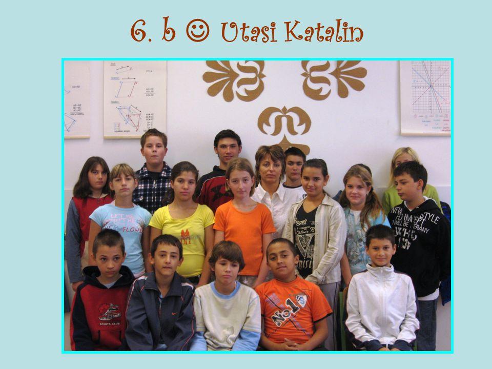 6. b  Utasi Katalin