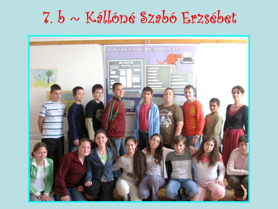 7. b ~ Kállóné Szabó Erzsébet