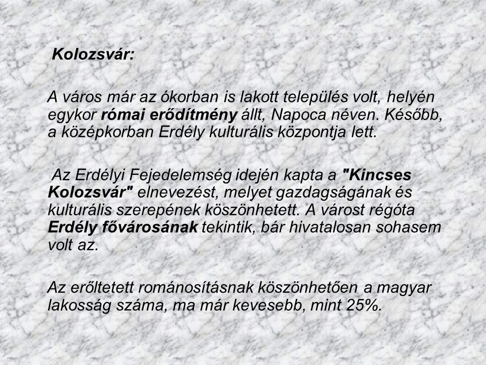Kolozsvár: