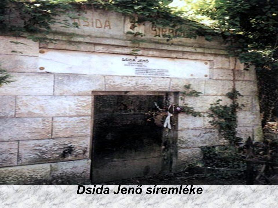 Dsida Jenő síremléke