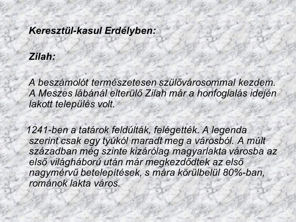 Keresztül-kasul Erdélyben: