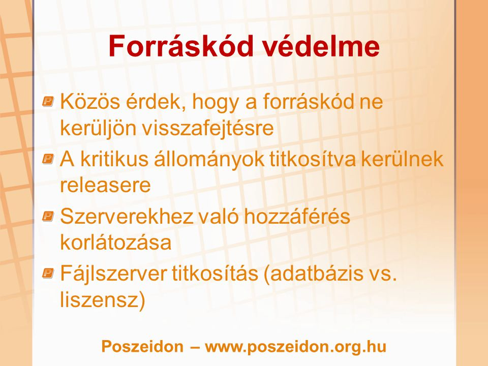 Poszeidon – www.poszeidon.org.hu