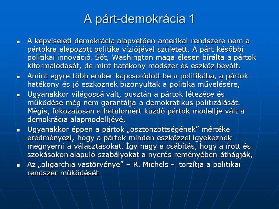 A párt-demokrácia 1