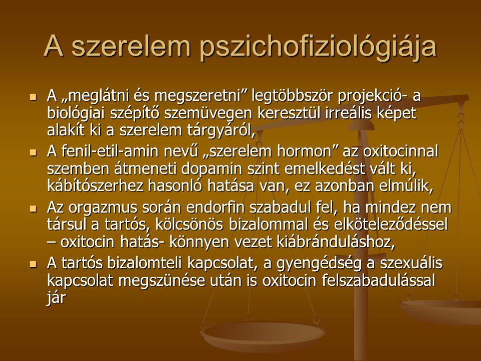 A szerelem pszichofiziológiája