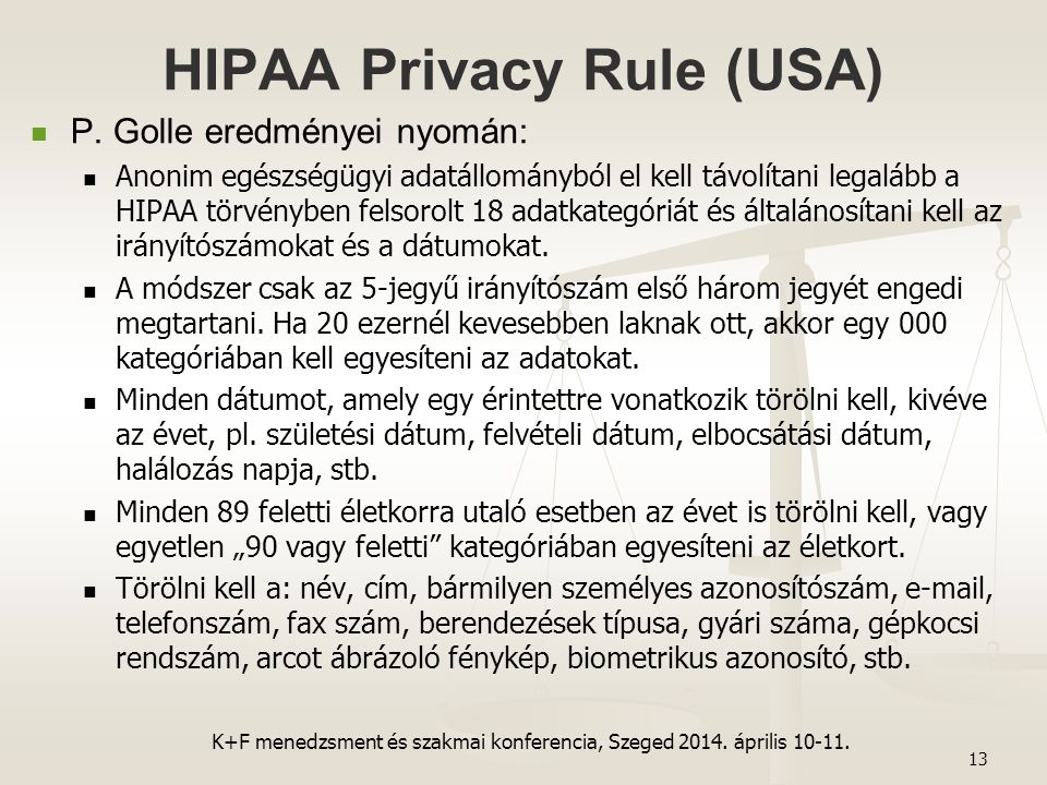 HIPAA Privacy Rule (USA)
