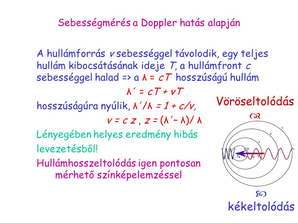 Sebességmérés a Doppler hatás alapján