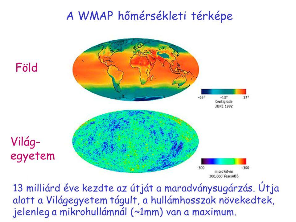 A WMAP hőmérsékleti térképe