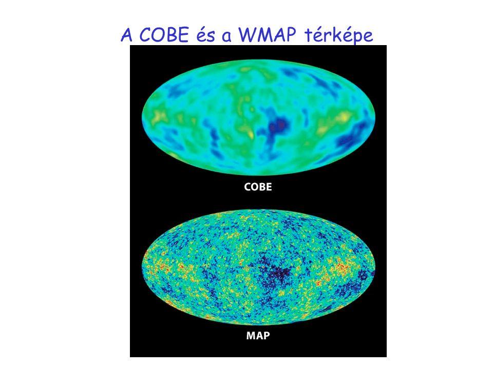 A COBE és a WMAP térképe