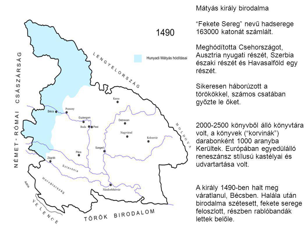 Mátyás király birodalma