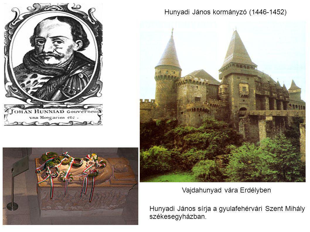 Hunyadi János kormányzó (1446-1452)