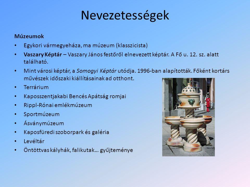 Nevezetességek Múzeumok Egykori vármegyeháza, ma múzeum (klasszicista)