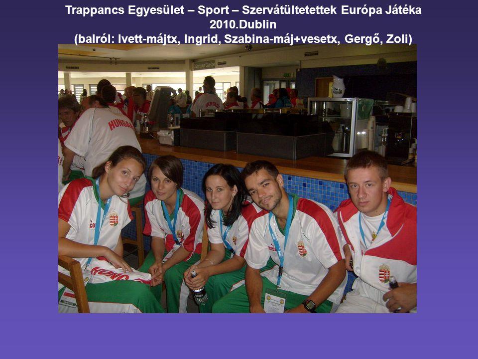 (balról: Ivett-májtx, Ingrid, Szabina-máj+vesetx, Gergő, Zoli)