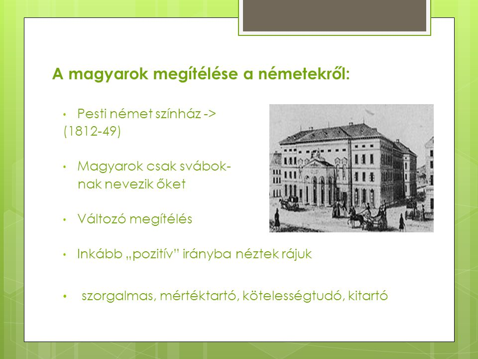 A magyarok megítélése a németekről:
