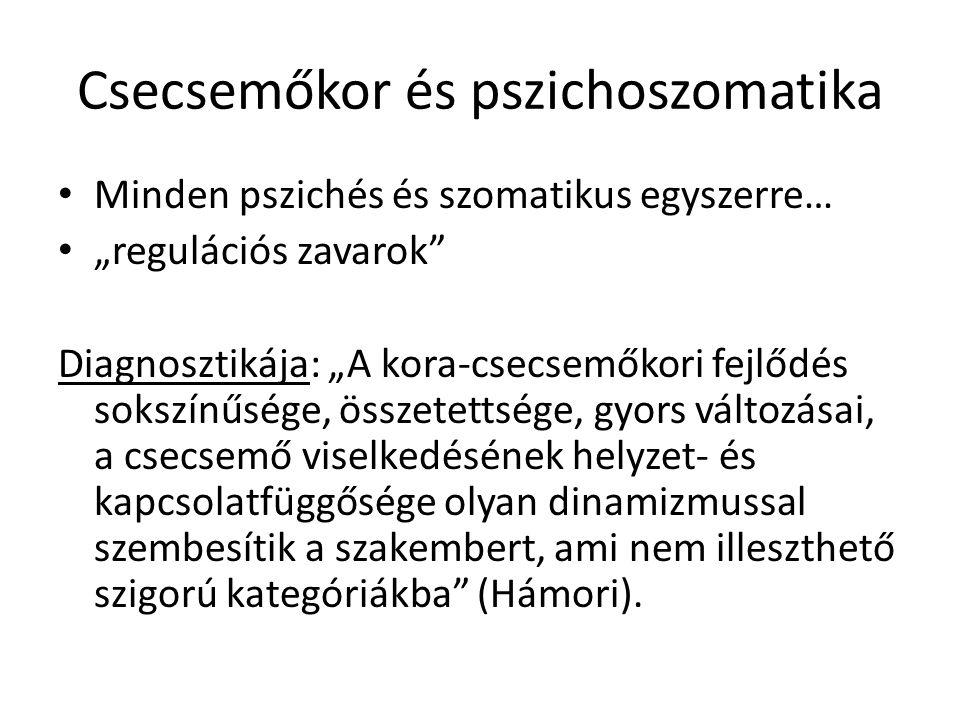 Csecsemőkor és pszichoszomatika