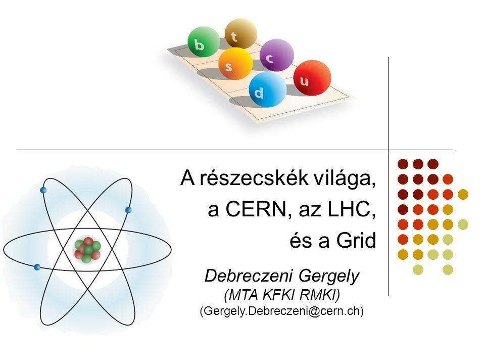 (Gergely.Debreczeni@cern.ch)