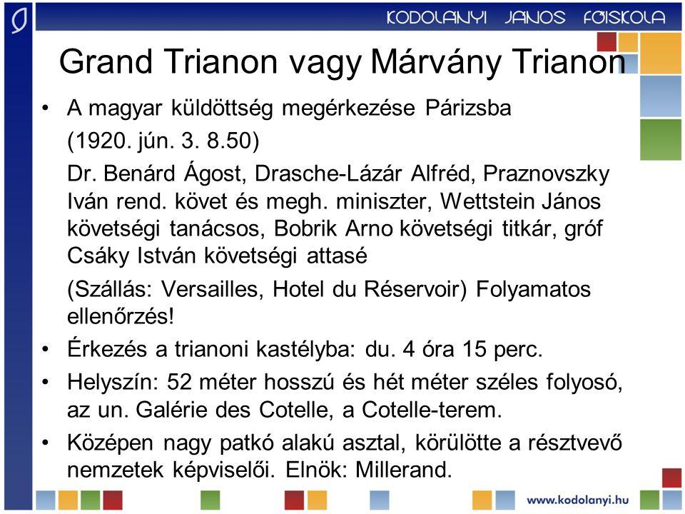 Grand Trianon vagy Márvány Trianon
