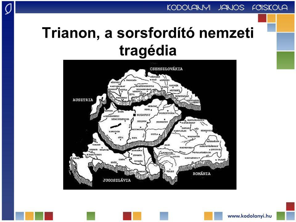 Trianon, a sorsfordító nemzeti tragédia
