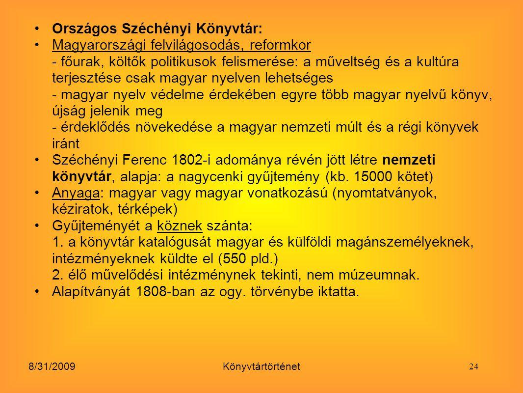 Országos Széchényi Könyvtár: