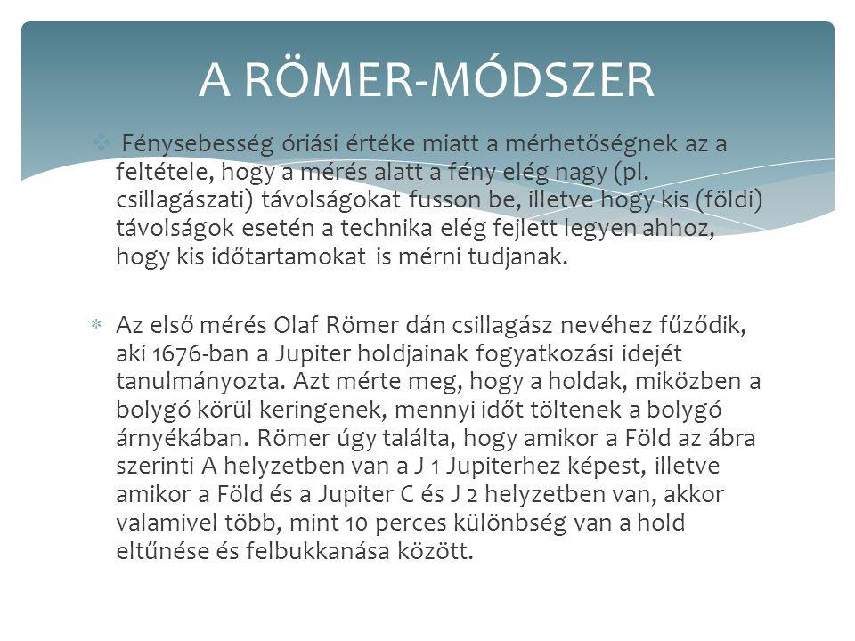 A RÖMER-MÓDSZER