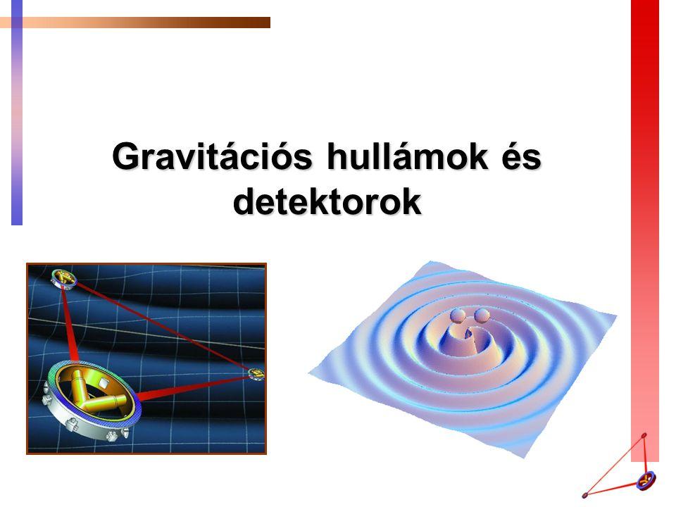 Gravitációs hullámok és detektorok