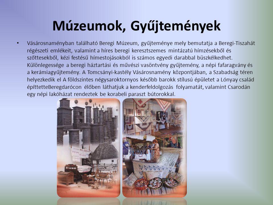 Múzeumok, Gyűjtemények