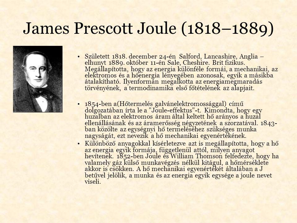 James Prescott Joule (1818–1889)