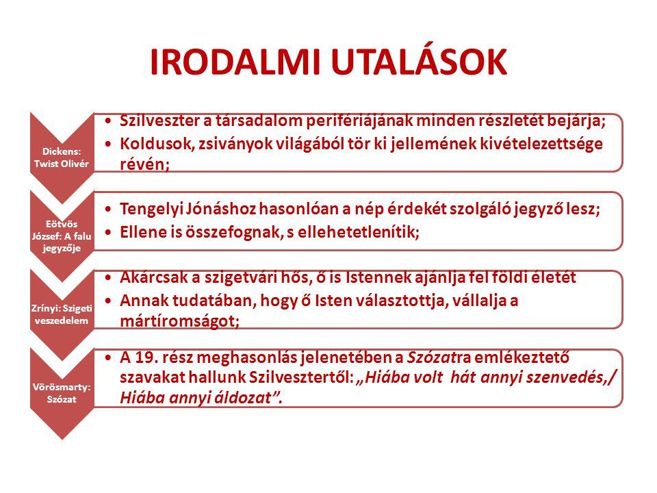 Eötvös József: A falu jegyzője Zrínyi: Szigeti veszedelem