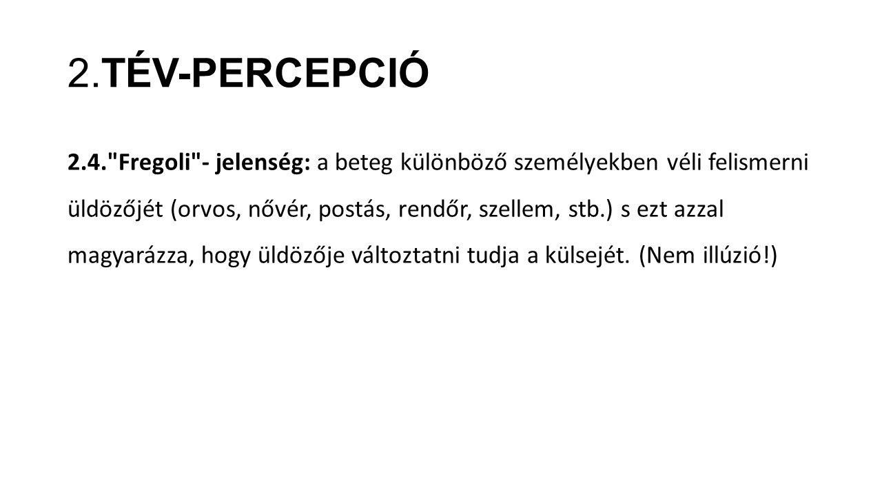 2.TÉV-PERCEPCIÓ