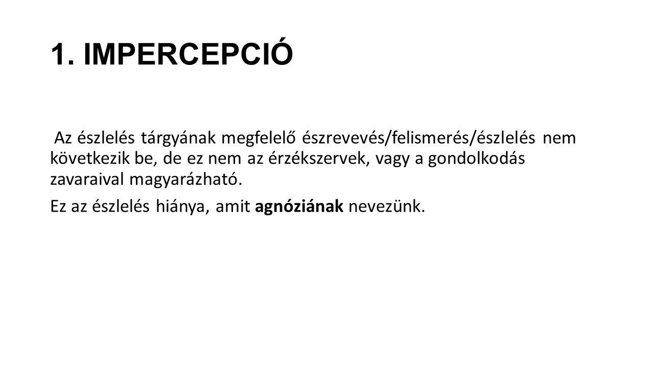 1. IMPERCEPCIÓ