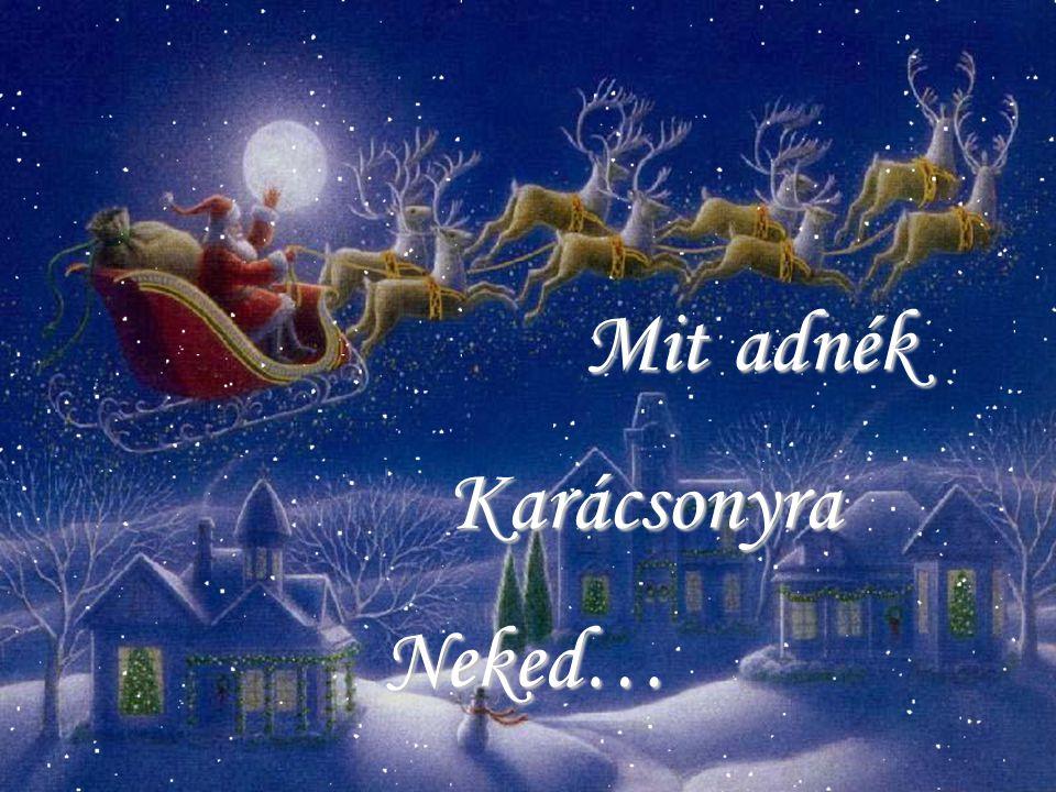 Mit Karácsonyra Neked… adnék
