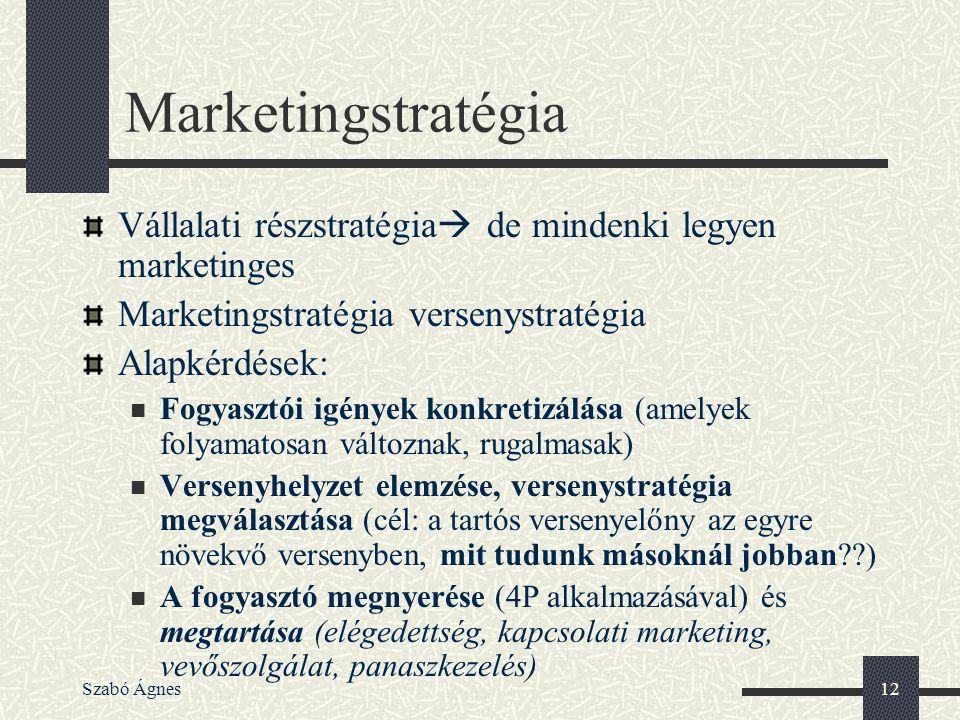 Marketingstratégia Vállalati részstratégia de mindenki legyen marketinges. Marketingstratégia versenystratégia.