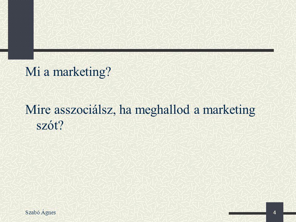 Mire asszociálsz, ha meghallod a marketing szót