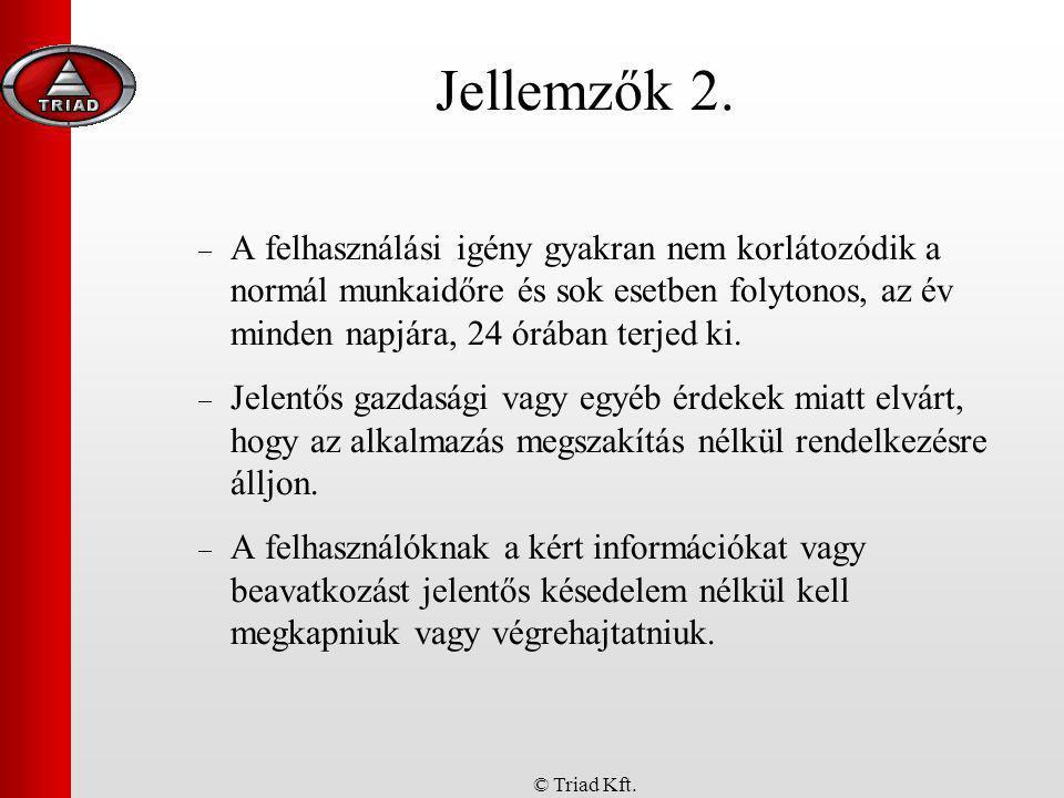 Jellemzők 2.