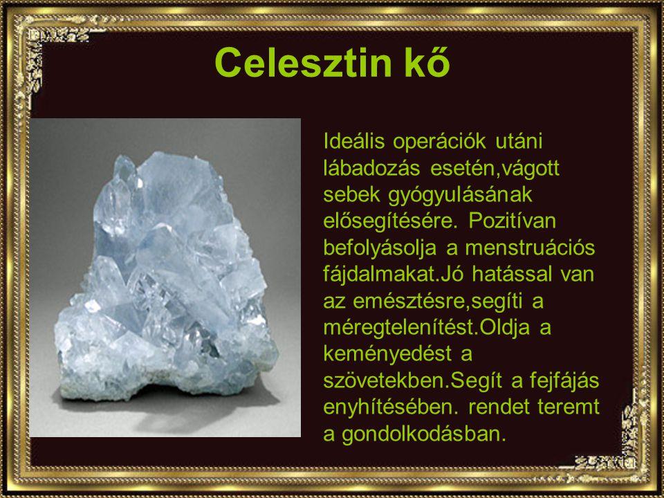 Celesztin kő