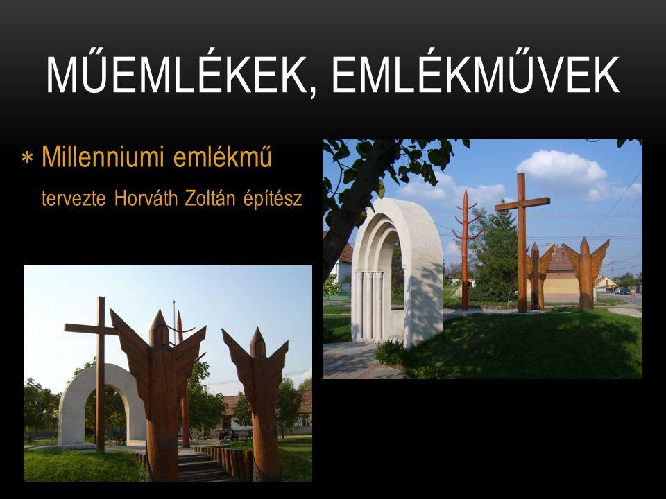 Millenniumi emlékmű tervezte Horváth Zoltán építész