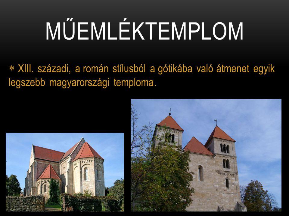 Műemléktemplom XIII.