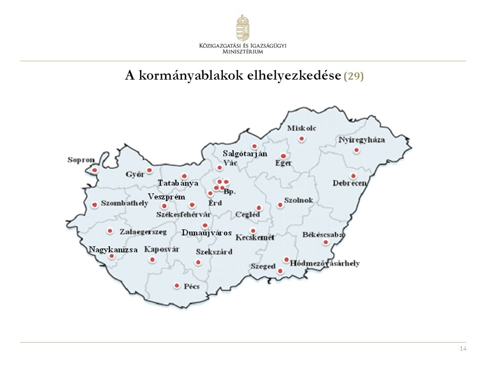 A kormányablakok elhelyezkedése (29)