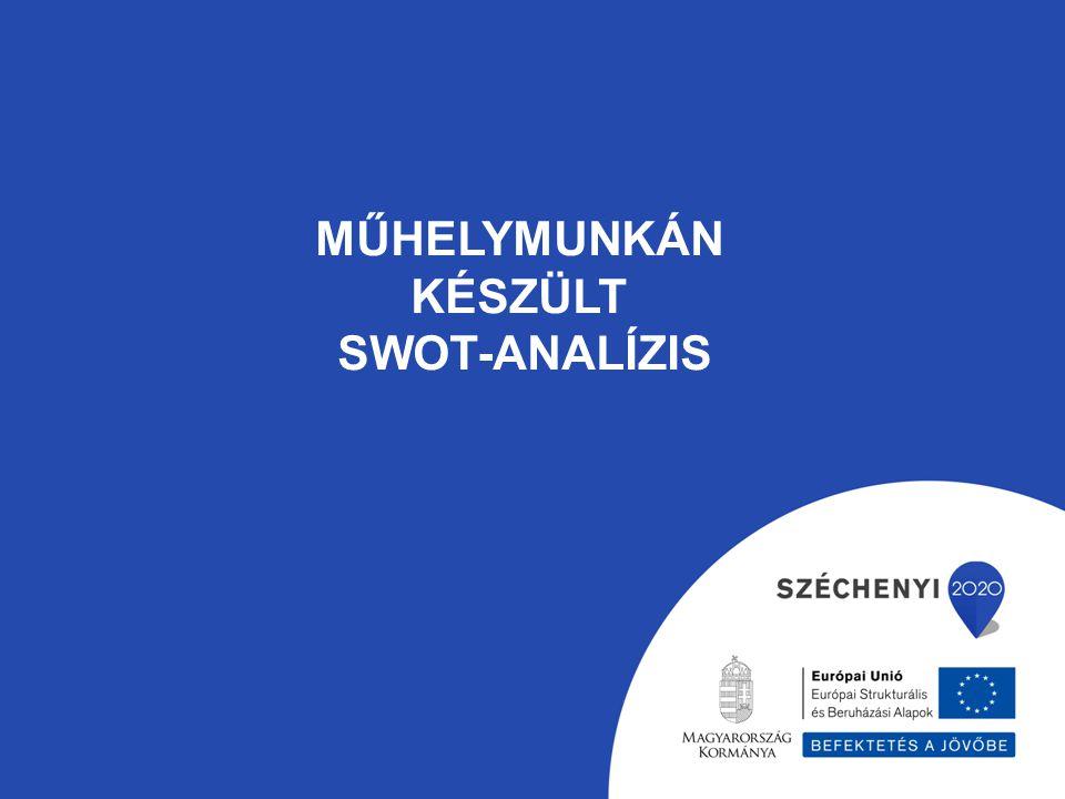 Műhelymunkán készült Swot-analízis