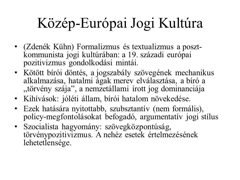 Közép-Európai Jogi Kultúra