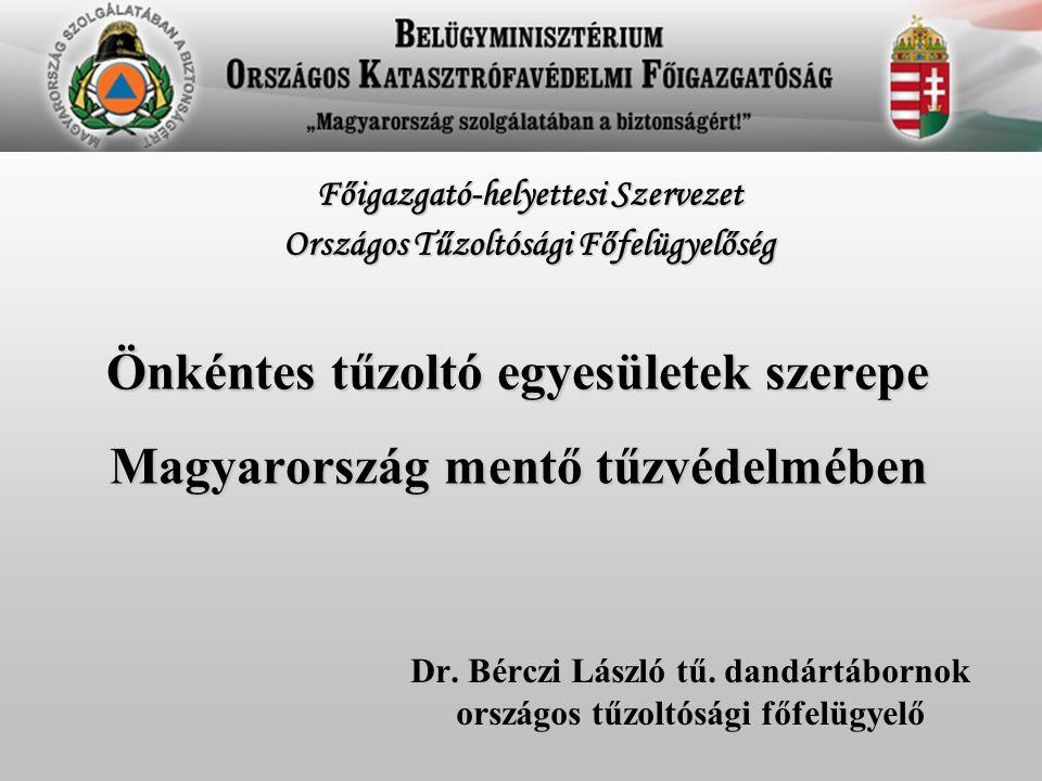 Önkéntes tűzoltó egyesületek szerepe Magyarország mentő tűzvédelmében