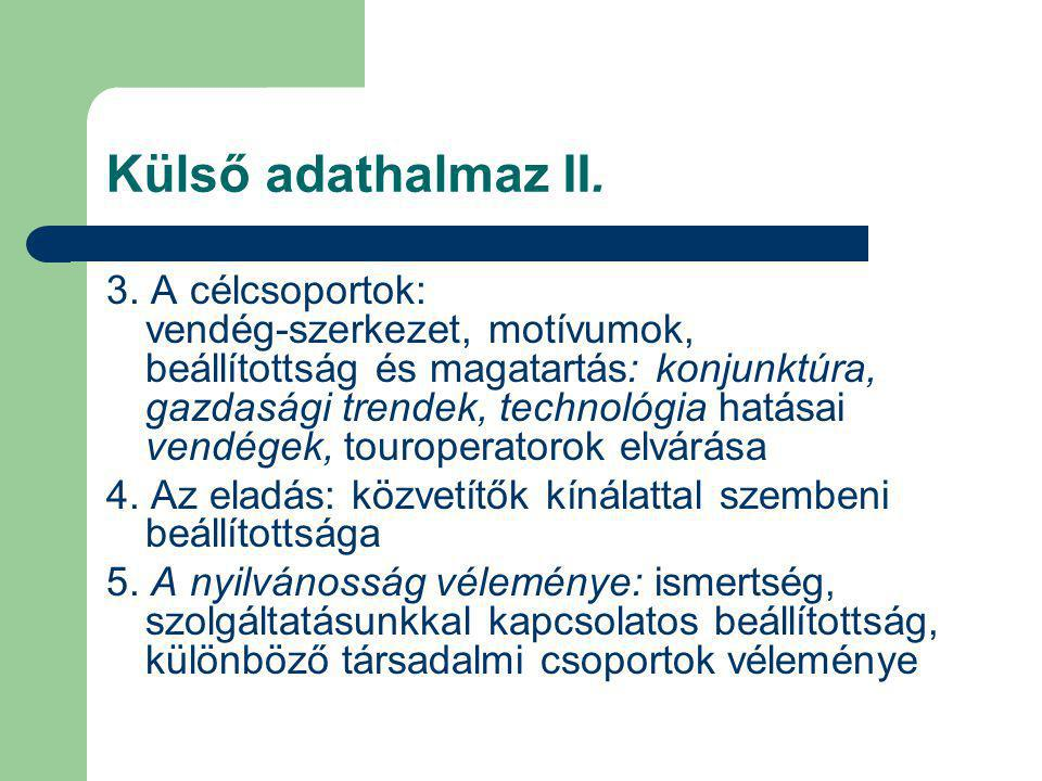Külső adathalmaz II.