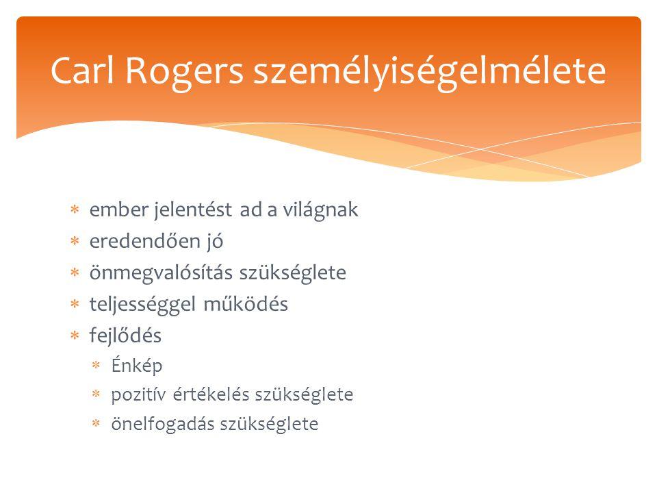 Carl Rogers személyiségelmélete