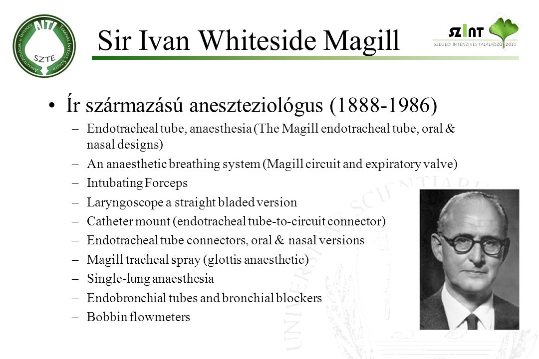 Sir Ivan Whiteside Magill